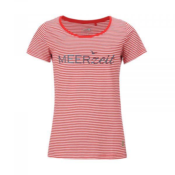 Damen-T-Shirt – geringelt