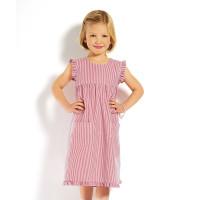 Kinderkleid, gestreift