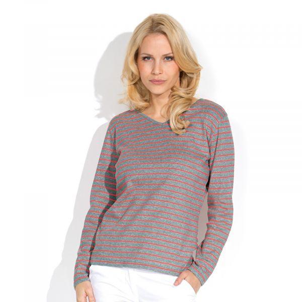 Damen-Shirt V-Ausschnitt