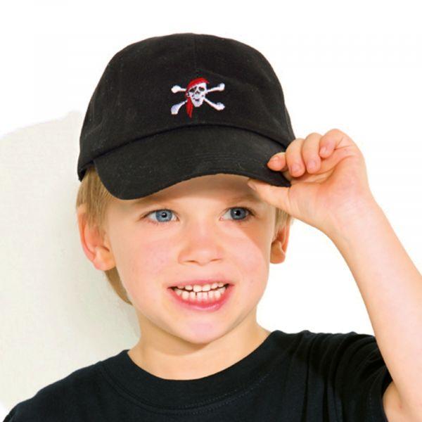 """Kinder Baseball-Cap """"Pirat"""""""