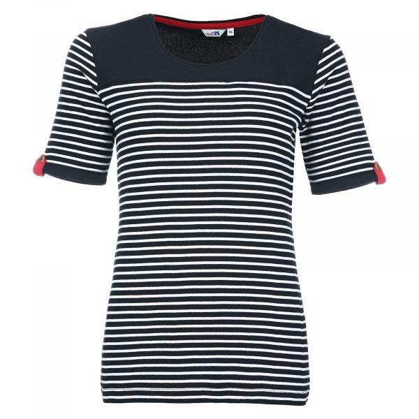 Geringeltes Damen-Shirt