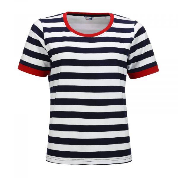Damen-T-Shirt – Blockstreifen