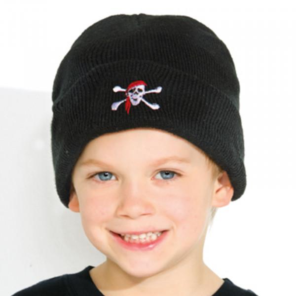 Piraten-Rollmütze für Kinder